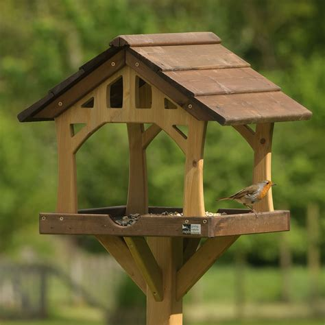 country barn bird feeding table rspb bird tables rspb shop