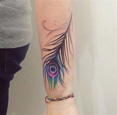 easy tattoo of peacock feather cool feather disign part 3 tattooimages biz