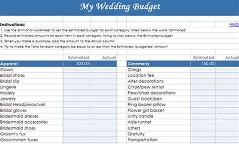 6 Tips To Help Save Money On Your Wedding Las Vegas Wedding Blog Bridal Spectacular Bridal Shower Budget Template