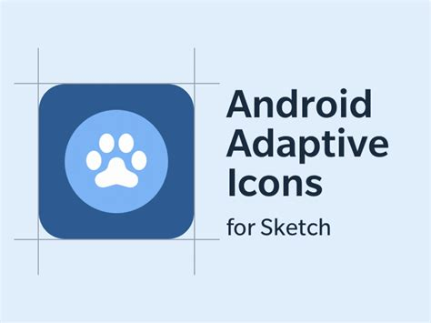 android app icon template android adaptive icon sketch template by zack simon dribbble