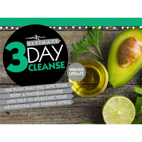 Mummy Winter Detox by 3 Day Cleanse Winter Version Ebook The Healthy Mummy