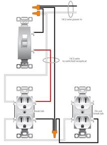 wiring a switched outlet wiring diagram electrical online