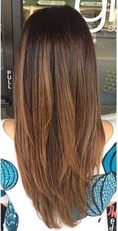 hairstyles for long straight hair with highlights medium length layered hairstyles back view 2015 best