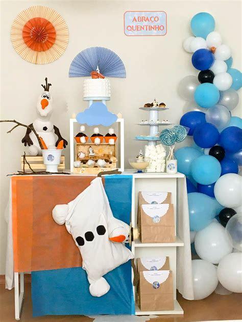 Mini Table E Tende Ia Para Cha De Bebe Aniversario E