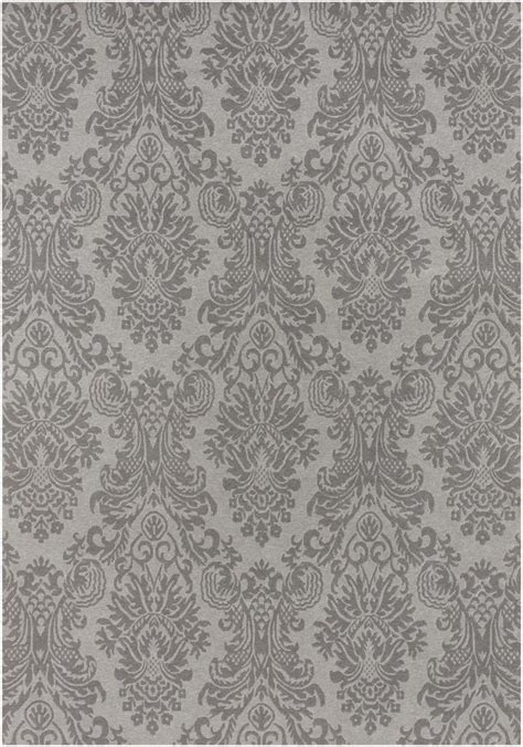 Gray Damask Rug by Gray Damask Area Rug Home Our Boudoir