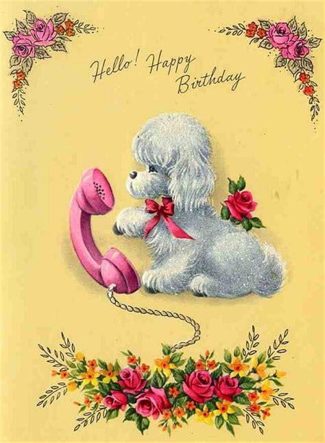 Images Vintage Birthday Cards Happy Birthday Mom Retro Renovation