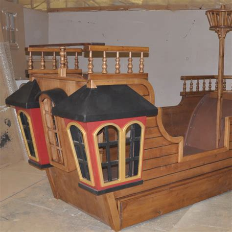 ship bed pearl pirate ship bed w trundle crows nest and more