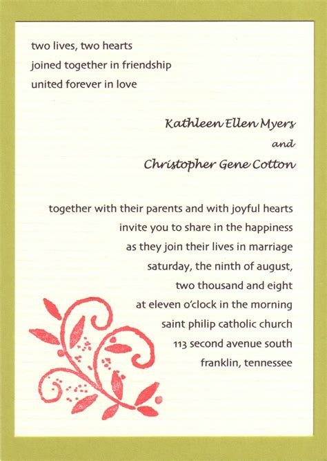 Wedding Invitation Letter Mail Invitation To Wedding Wording Email Invitation Ideas