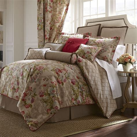 rose comforter set rose tree 4 piece bristol comforter set ebay