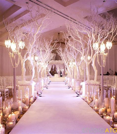wedding aisle for winter pictures photos and images for
