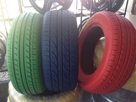 yes colored tires available now yelp