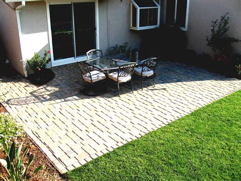 simple small backyard ideas patio design on a budget me