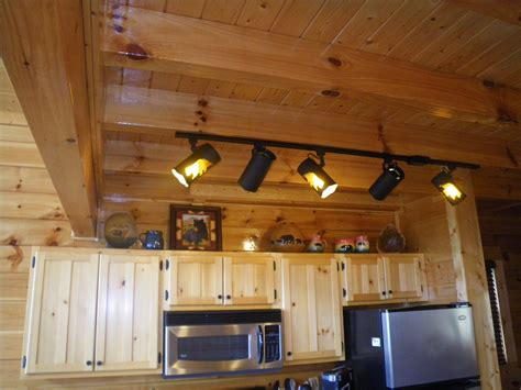 log home lighting design track lighting for log cabins lighting ideas