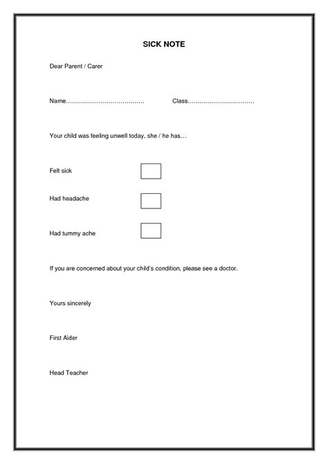 return to work slip template best photos of return to work slip template return to