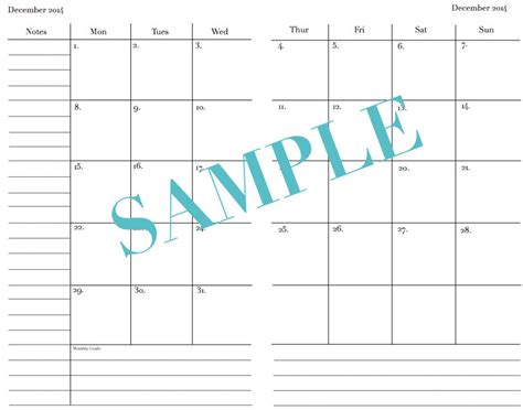 a5 2015 printable new calendar template site
