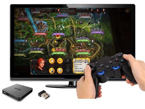 Smartphone Wireless 2 4ghz Gamepad universal smartphone wireless 2 4ghz gamepad for smart tv