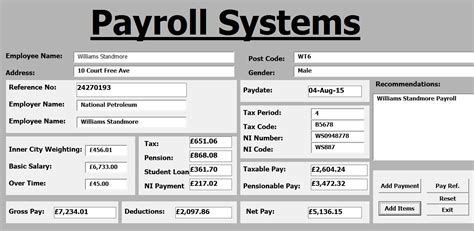 video tutorial vba how to create payroll systems in excel using vba