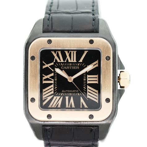 Cartier Santos 100 XL W2020009 18k Rose Gold Watch Boca Raton