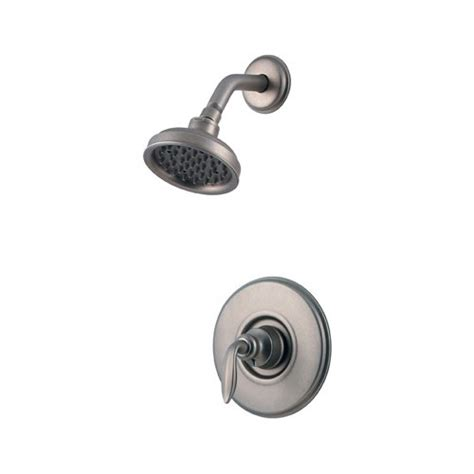 Pfister Shower Valve by Price Pfister R89 7cbe Rustic Pewter Shower Faucet Trim Ebay