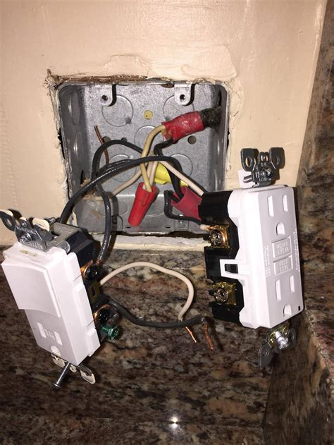 wiring how to wire a gfci duplex outlet with a garbage