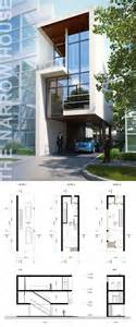 home architect plans the narrow house on behance ideas for the house