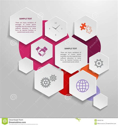 Paper Business - paper business infographics design elements royalty free