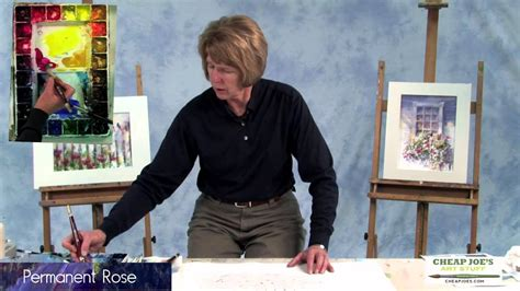 cheap joe s watercolor tutorial watercolor techniques with judy rider painting a white