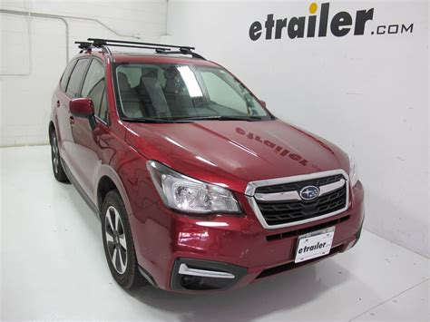 Subaru Forester 2014 Roof Rack by Roof Rack For Subaru Forester 2014 Etrailer