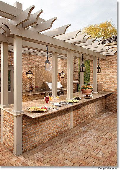 rustic outdoor kitchens pictures to pin on pinterest outdoor kitchen home sweet home pinterest terrasse