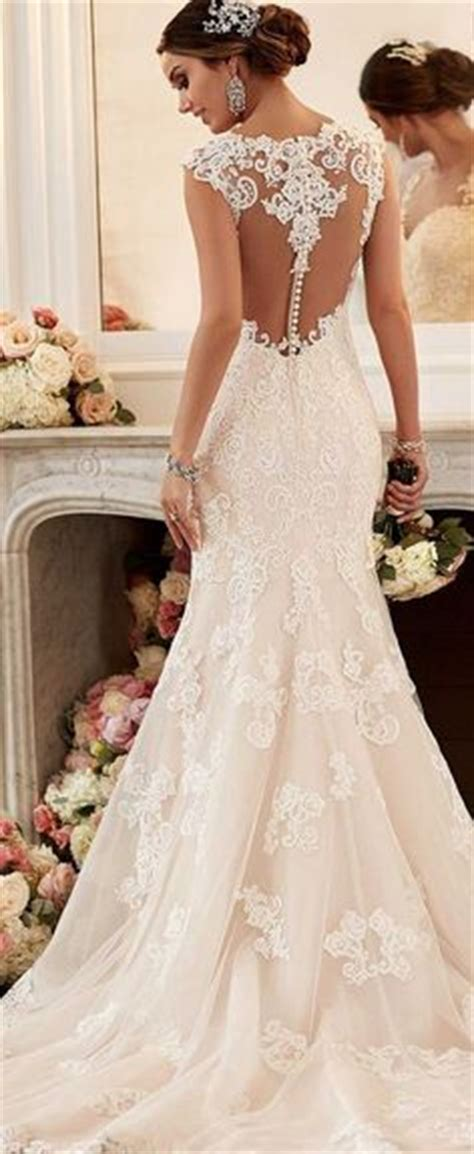Lace Style Wedding Dresses by 2017 Lace Wedding Dresses Country Style Pluging V