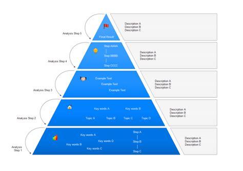 Create 3d Floor Plan pyramid diagram free pyramid diagram templates