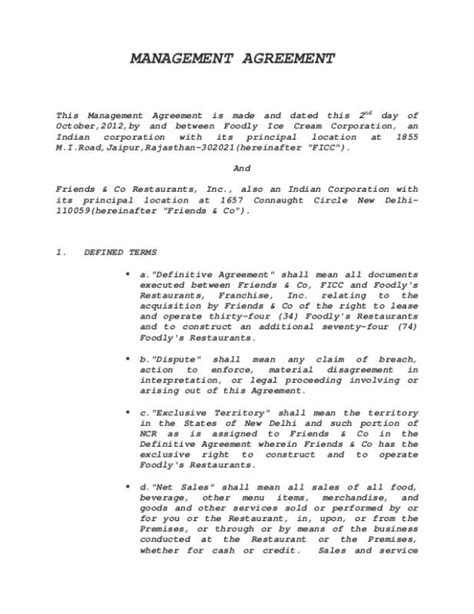 event management agreement template wedding venue contract template business