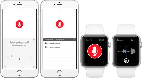 voice mobile app just press record is a simple voice recorder for watchos 2