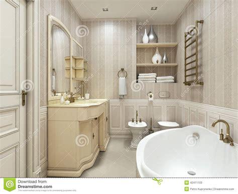 classic bathroom styles luxury bathroom classic style stock illustration image