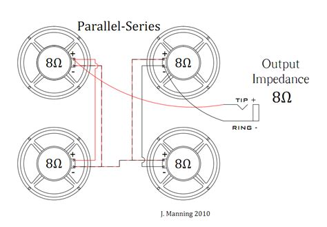 speakers in parallel diagram built wiring