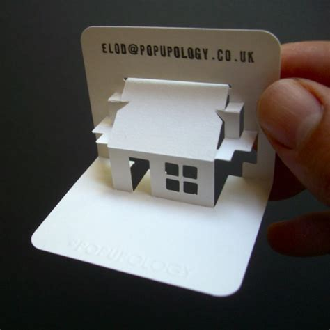 pop up business card template popupology