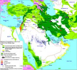 middle east religious composition map dareshgaft e