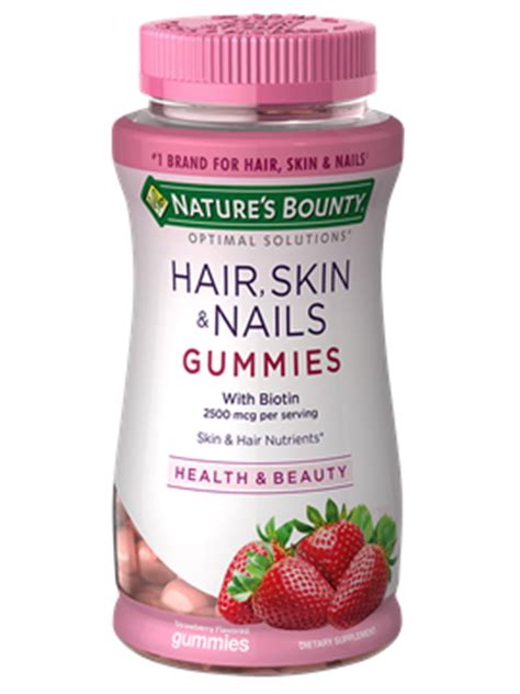 hair skin and nails hair skin nails 80 nature s bounty be your