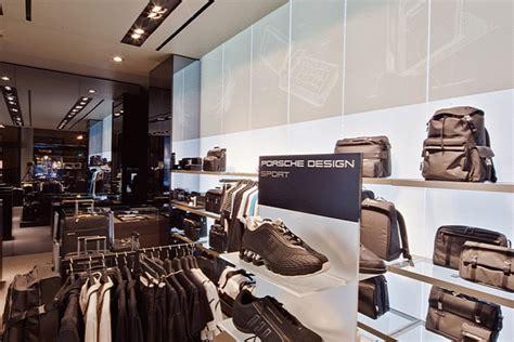 porsche design store fashion collection 187 retail design blog