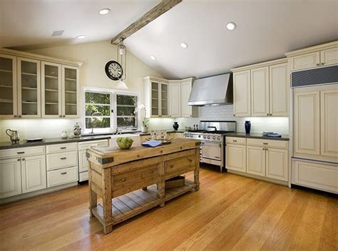 country style kitchen island 25 portable kitchen islands rolling movable designs designing idea