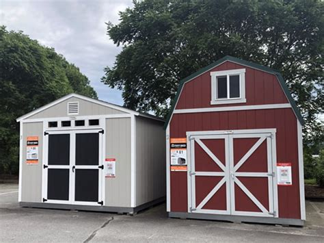 comparing    sheds  barns project small house