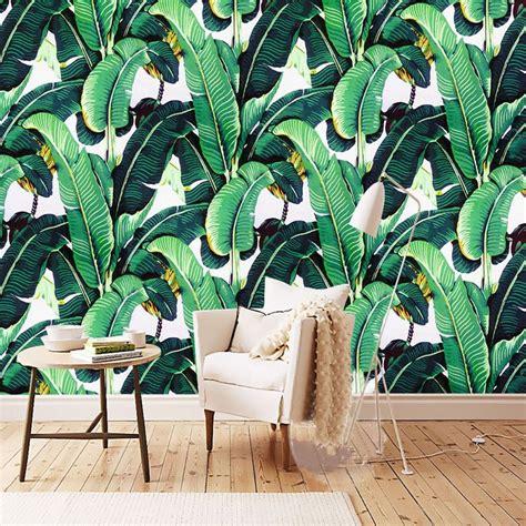 banana leaf wallpaper ebay 17 best ideas about papier peint 3d on pinterest mur 3d