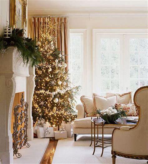 Elegant Christmas Decorating Ideas | 60 elegant christmas country living room decor ideas