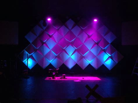 set design ideas how to create big stages with small budgets materials