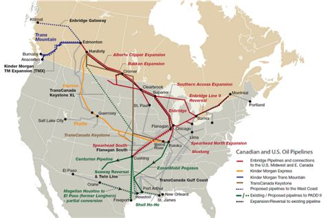 map of pipelines in alberta what are the increased risks from transporting tar sands