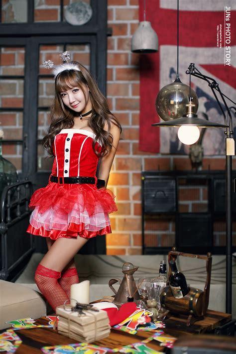jo  young merry christmas cute girl asian girl