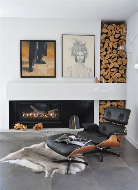 Most Comfortable Chair by 25 Cool Firewood Storage Designs For Modern Homes