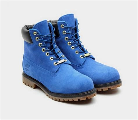 atmos x timberland 6 inch premium quot blue suede quot boots