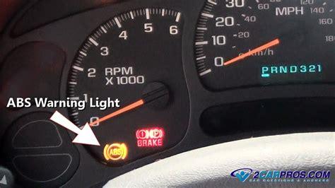 anti lock brake light car repair how abs anti lock brakes work