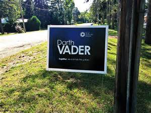 backyard signs 12 voting signs express what really think